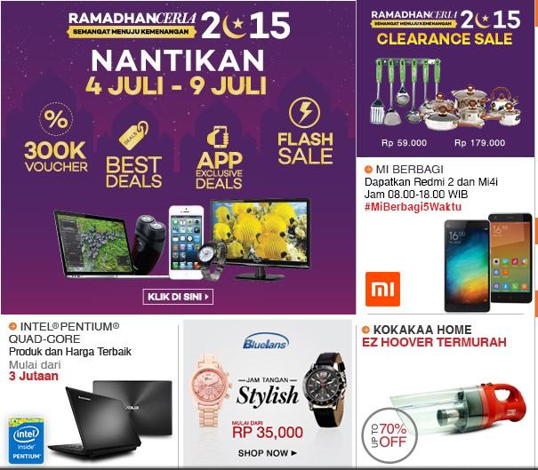 Discount Ramadhan Ceria Lazada.com 2015